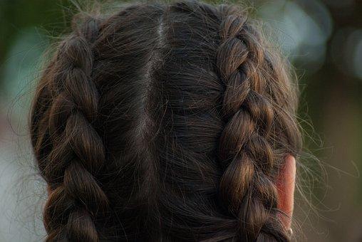 Hairstyle, Braids, Mats, Hair