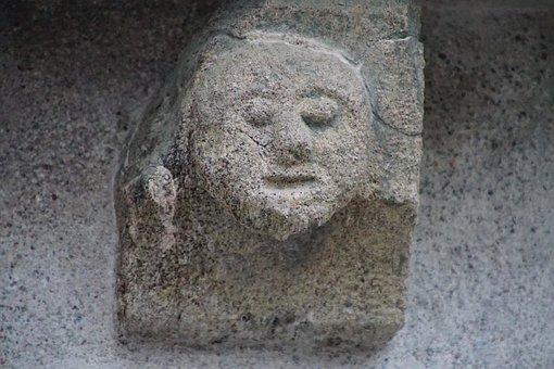 Head, Sculura, Stone, Convent, Chartreuse, Merano