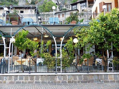 Restaurant, Ice Cream Parlour, Limone Sul Garda, Limone