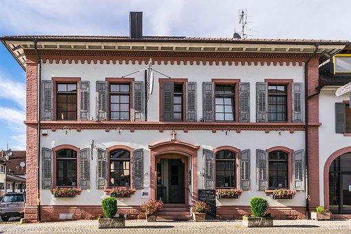Restaurant, Home, Architecture, Endingen, Kaiserstuhl