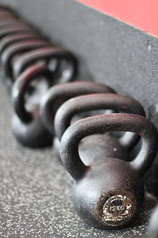 Weights, Raise, Kilo, Dumbbells, Small