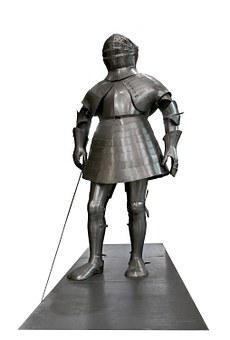 Armour, Knight, Historic, Museum, Medieval, Warrior
