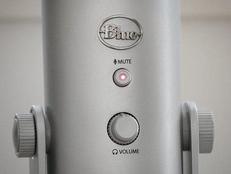 Microphone, Mute, Audio, Micro, Sound, Sound Recording