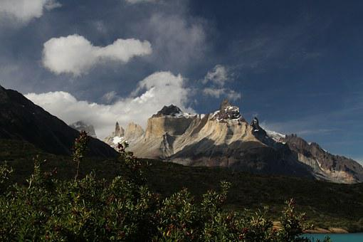 Chile, Patagonia, Torres, Paine, Landscape, Outdoors