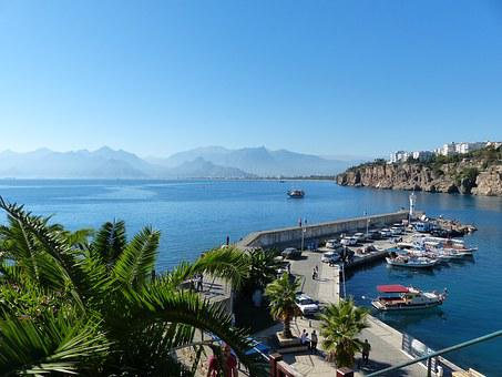 Turkey, Antalya, Outlook, Turkish Riviera, Coast