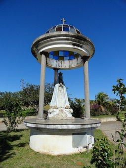 Our Lady, Santa, Faith, Peace, Santos, Church, Statue