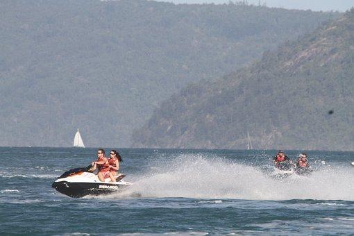 Personal Watercraft, Jet Ski, Jet Boat, Plastic