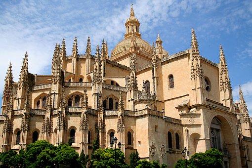 España La Bella, Spain, Segovia, Cathedral