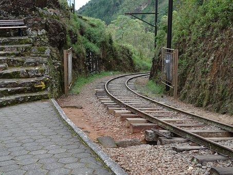 Train, Railroad, Station, Eugenio Lefreve, Train Line