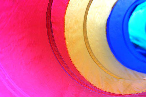 Color, Tunnel, Pipe, Structure, Background, Red, Yellow