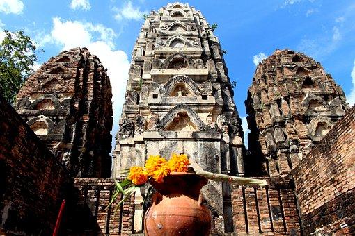 Thailand, Temple, Buddhism, Buddha, Temple Complex