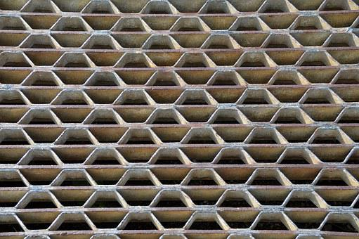 Texture, Grid, Graphic, Abstract, Pattern, Metal, Shaft