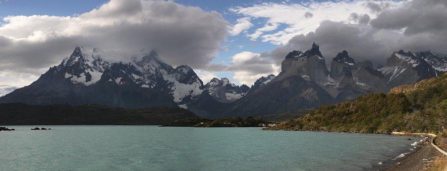 Torres Del Paine, Patagonia, Chile, Torres, Del, Paine