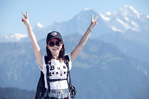 G E M, Climbing, Mountain, Girls, Joy, Hiking, Travel