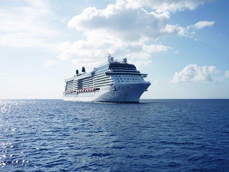 Cruise Ship, Ship, Cruise, Vacations, Sea, Water