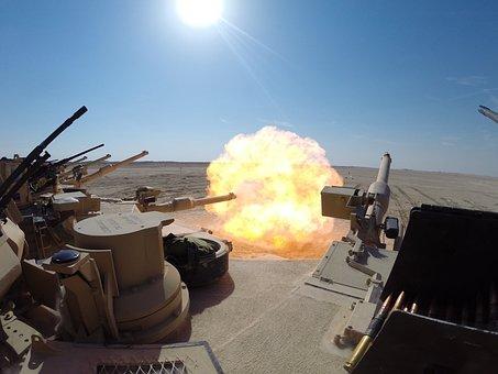 Tank, Sabot, Armor, Armour, Warfare, War, Abrams