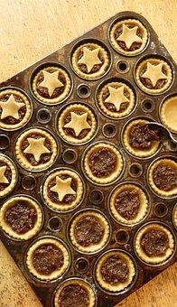 Mince Pies, Christmas, Baking, Xmas, Homemade