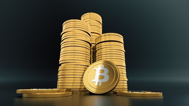 Bitcoin, Cryptocurrency, Virtual, Money, Currency