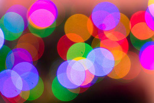 Bright, Christmas, Shiny, Blur, Color, Background