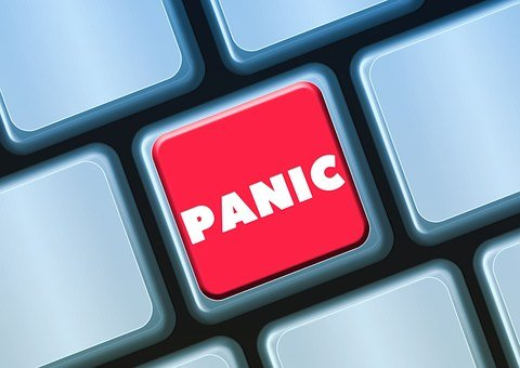 Keyboard, Button, Panic, Fear, Anxiety, Excitement