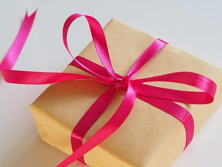 Thread, Bow, Gift, Birthday, Box, Christmas