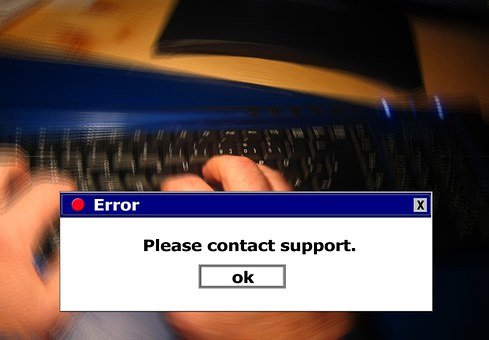 Error, Www, Keyboard, Tap, Type In, Hand, Finger