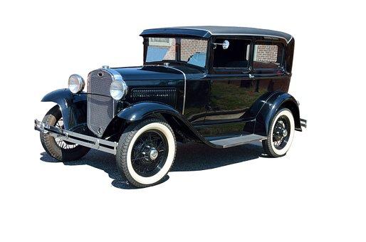 Vintage Car, Automobile, Design, Ford, Antique, Old