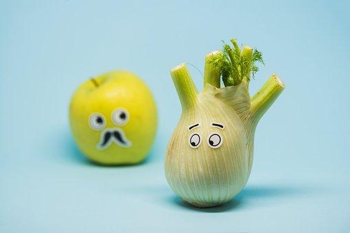 Apple, Food, Fresh, Fruit, Green, Closeup, Close-up