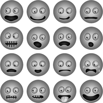 Smileys, Icons, Iconset, Faces, Happy, Sad, Surprised