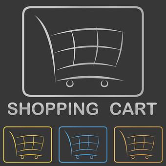Shopping Cart, Icon, Logo, Shop, Shopping Logo, Webshop