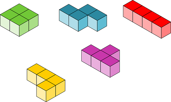 Tetris, Blocks, Building, Cubes, Toy, Play, Childhood