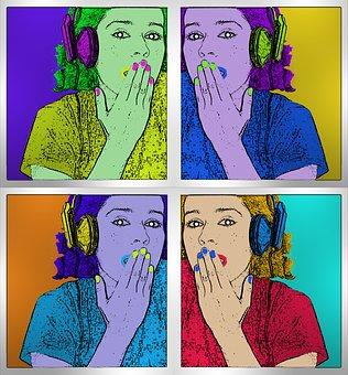 Pop Art, Popart, Andy Warhol, Plastic Artist
