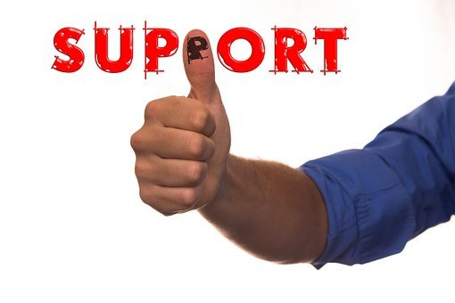 Support, Thumb, Thumbs Up, Arm, Man, Help Button, Help