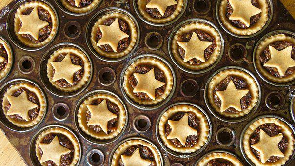 Mince Pies, Christmas, Baking, Pastry, Homemade, Xmas