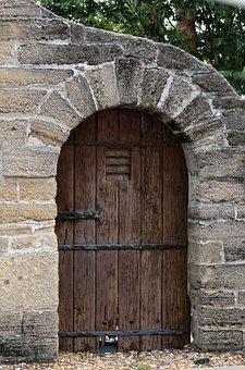 Historic Door, Vintage, Antique, Old, Grunge, Aged