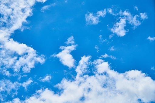 Sky, Cloud, Clouds, Blue, White, Atmosphere, Air, Space
