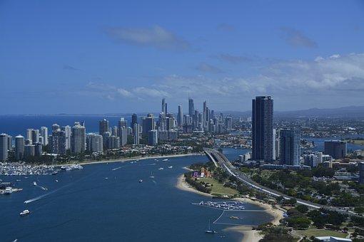 Gold Coast, Queensland, Australia, Gold, Coast, Beach