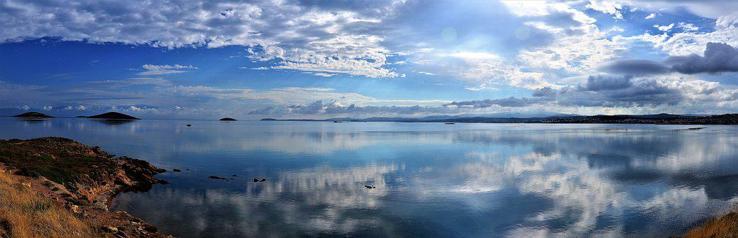 Landscape, Ayvalýk, Turkey, Peace, Holiday, Marine