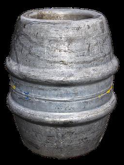 Barrel, Alufass, Beer Keg, Storage, Transport, Beer