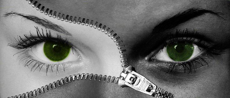 Woman, Eyes, Face, Close, Eyelashes, View, Human Eye