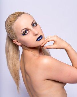 Model, Make Up, Make-up, Makeup, Face, Fashion, Young
