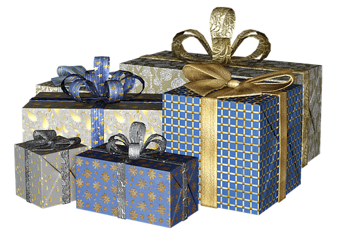 Gift, Christmas Gift, Packed, Give, Loop, Christmas