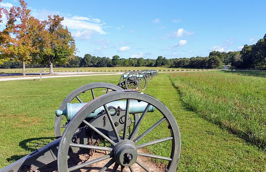 Civil, War, History, Old, Weapon, Cannon, Military