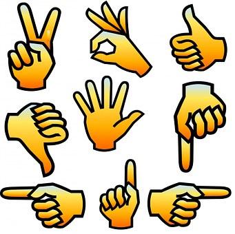 Sign, Finger, Left, Human, Greeting, Wrist, Thumb, Down