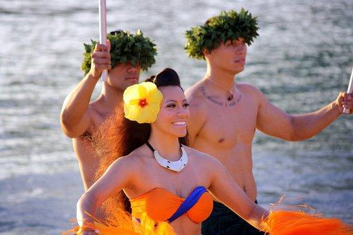 Hawaii, Hula, Hawaiian, Girl, Dancer, Island, Aloha