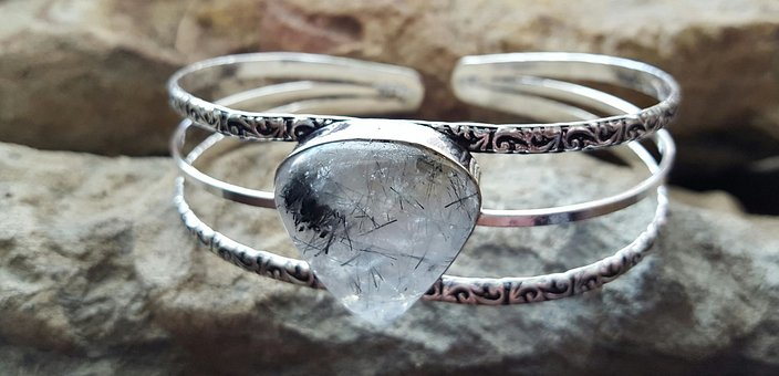 Crystal, Quartz, Rutile, Jewelry, Bracelet, Gemstone