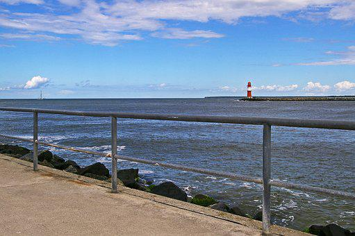 Warnemünde, Baltic Sea, Lighthouse, Tower