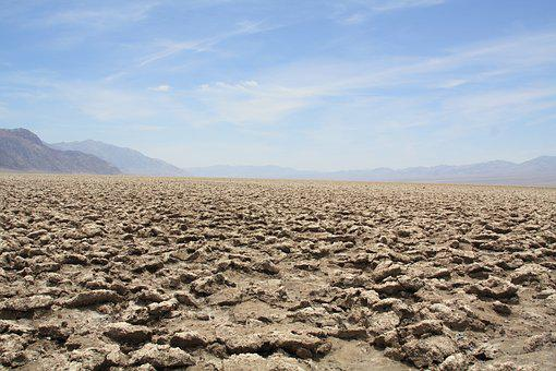 Desert, Dry, Parched, Earth, Nature, Death Valley