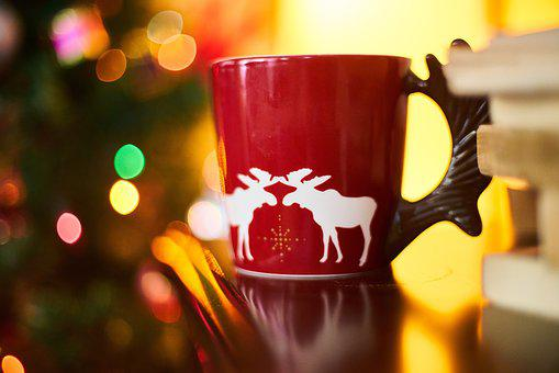 Coffee, Cup, Red, Photo, Nutrition, Espresso
