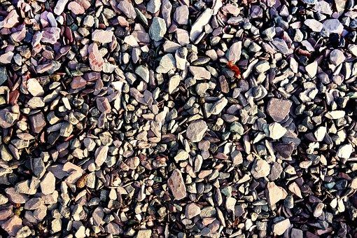 Pebble, Stone, Rock, Gray Pebble, Texture